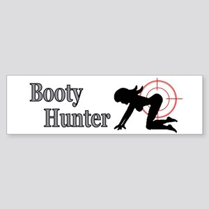 Booty Hunter Bumper Sticker